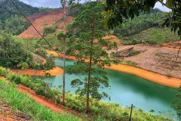 Sítio 5.000m² com Casa as margens da represa do Rio Bonito em Santa Mari de Jetibá ES